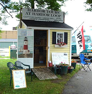 The Harbor Tours Ticket Booth